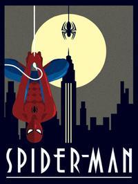 Marvel - Deco - Spider-Man Hanging Framed Print (30x40cm) - Cover