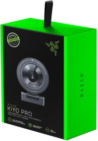 Razer - Kiyo Pro USB Camera with High-Performance Adaptive Light Sensor