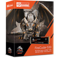 Seagate 1TB Firecuda 530 M.2 NVMe PCIe V4.0 Solid State Drive
