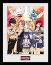 Fairy Tail - Season 2 Key Art Framed Poster (30x40cm)
