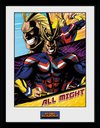 My Hero Academia - All Might Panels Framed Poster (30x40cm)