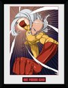 One Punch Man - Speed Punch Framed Poster (30x40cm)