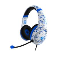 Stealth - Conqueror PRO4-70 Multiformat Stereo Gaming Headset - Camo White/Arctic Blue (PC/Gaming)