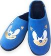 Sonic The Hedgehog - Class of 91 Mule Rubber Sole Slippers Adult - Blue (UK 8-10)