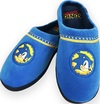 Sonic The Hedgehog - Go Faster Mule Rubber Sole Slippers Adult Large - Blue (UK 8-10)