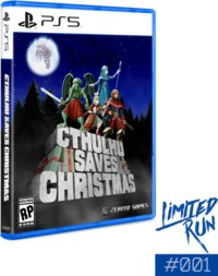 Cthulhu Saves Christmas (Limited Run #001) (US Import PS5) - Cover