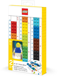 LEGO® - Buildable Ruler With Minifgure