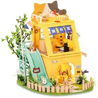 Robotime - DIY House - Cat House
