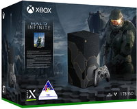 Microsoft - Xbox Series X Console 1TB SSD + Digital Code for Halo Infinite  Limited Edition Bundle