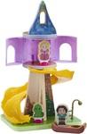 Disney Princess - Wooden Rapunzel's Tower And Figure Playset