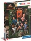 Clementoni - Jurassic World Camp Cretaceus Puzzle (104 Pieces)