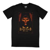 Diablo II - Box Art - Men's T-Shirt - Black (XX-Large) - Cover