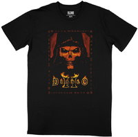 Diablo II - Box Art - Men's T-Shirt - Black (Small) - Cover