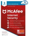 McAfee Internet Security for 3 Devices with 1 Year Subscription