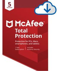 Mcafee 2019 Total Protection 5 Devices - Cover