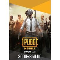 PUBG Mobile Unknown Currency (3000+850) 3850 (UC) Unknown Cash (Mobile)