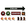 World of Tanks Miniatures Game - Gaming Tokens (25 Tokens) (Miniatures)