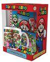 Super Mario - Evergreen Premium Gift Set (Mug/Coaster/Keychain/Notebook)