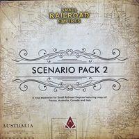 Small Railroad Empires - Scenario Pack 2 (Board Game) - Cover