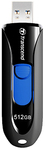 Transcend 512GB JF790 USB3.1 Gen 1 Capless Flash Drive - Black and Blue