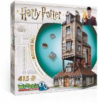 Wrebbit - Harry Potter - The Burrow Weasley Family Home 3D Puzzle (415 Pieces) - Cover