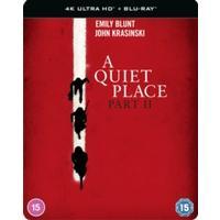 A Quiet Place Part II Steelbook (4K Ultra HD + Blu-ray)