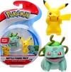 Pokemon - Pikachu and Bulbasaur Battle Figure Pack