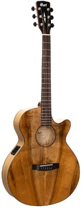 Cort SFX-Myrtlewood Thinline Acoustic Guitar with Pickup (Natural Gloss)