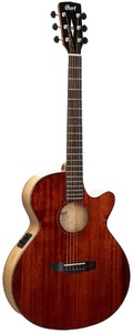 Cort SFX-Myrtlewood Thinline Acoustic Guitar with Pickup (Brown Gloss)