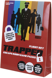 Trapped: Escape Room Game Packs - Flight 937 (Puzzle Game)