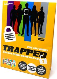 Trapped: Escape Room Game Packs - The Art Heist (Puzzle Game) - Cover