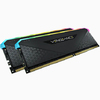 Corsair - VENGEANCE RGB RS 64GB (2 x 32GB) DDR4 DRAM 3200MHz C16 Memory Module Kit