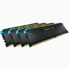 Corsair - VENGEANCE RGB RS 32GB (4 x 8GB) DDR4 DRAM 3200MHz C16 Memory Module Kit