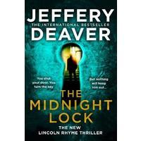Midnight Lock - Jeffery Deaver (Trade Paperback)