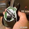 Axe Heaven - Jeff Hanneman - Slayer - Heineken Logo Mini Guitar Replica Collectible