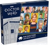 BBC - Doctor Who - The DoctorsPuzzle (1000 Pieces)