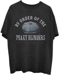 Peaky Blinders - Flat Cap: Unisex T-Shirt, Black (Medium) - Cover