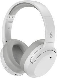 Edifier W820NB Hi-Res Active Noise Cancelling Wireless Bluetooth Headphones (White)