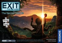 EXIT: The Game -  The Sacred Temple (Board Game + Puzzle)