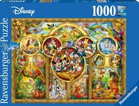 Ravensburger - The Best Disney Themes, Puzzle (1000 Pieces)