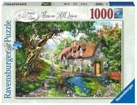 Ravensburger - Flower Hill Lane Puzzle (1000 Pieces)