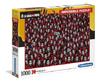 Clementoni - Money Heist Impossible Puzzle (1000 Pieces)