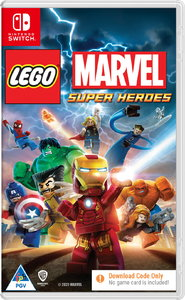 LEGO Marvel Super Heroes - Code in a Box (Nintendo Switch) - Cover