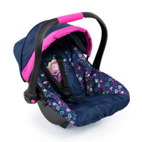 Bayer - Deluxe Dolls Car Seat With Cannopy (Blue) Mermaid