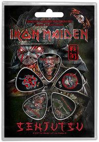 Iron Maiden - Senjutsu Plectrum Pack (Set of 5) - Cover