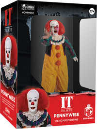 IT: Pennywise (1990 TV) Horror Figurine Collection (1:16 Scale Figurine)