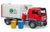 Bruder - MAN TGS Side loading garbage truck