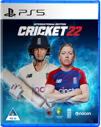 Cricket 22: The Official Game of The Ashes (PS5) - Cover