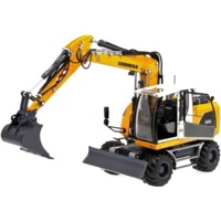 AT-Collections - 1:32 Liebherr A916 Wheeled Excavator W/Nokian Tyres and With Disconnectable Standard Bucket (Die Cast Model)