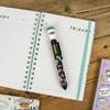 Friends - 8 Colour Pen- Coffee Cup Topper Pen Set
